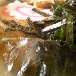 中華料理 翔竜亭 - 冷たいラーメン(氷がいい感じ)