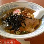 中華料理 翔竜亭 - 冷たいラーメン