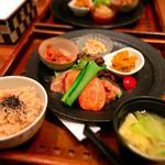 玄三庵  - 35品目野菜定食
