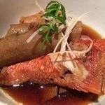 まりも亭 - 金目鯛の煮付け