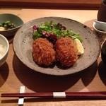 代官山 米花 - 【2013.12】コロッケ定食