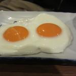 かまくら - 目玉焼き 2つで100円