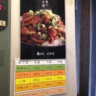 麺場 七人の侍 - 2013年12月