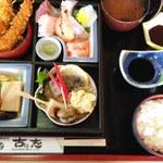 古に志 - 松花堂弁当  確か、\1380だったと思います?