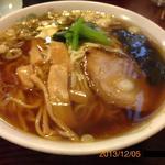 三州うどん - 2013/12/05 中華そば大盛り¥650