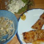 赤坂酒場 - 皮焼きとポテトサラダ