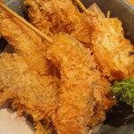 福多屋 - 野菜串揚げ五種盛り
