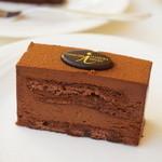 ショコラティエ イナムラショウゾウ - 料理写真:チョコレートケーキ