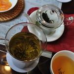 悟空茶荘 - 黄山緑牡丹(マグ)