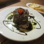 Bar Maquó - モハマ(マグロの塩漬け)とマグロのタルタル