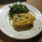 Bar Maquó - 白身魚とアルベキーナ オリーブのパテ