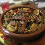Bar Maquó - 栗とキノコとチョリソの炊き込みご飯