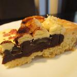 ティアラス - マスカルポーネとバナナのチョコレートタルト