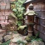 羽根屋 - 中庭