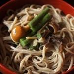 羽根屋 - 五色割子そば(山菜)