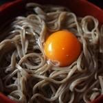 羽根屋 - 五色割子そば(卵)