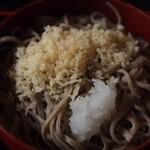 羽根屋 - 五色割子そば(天かす&おろし)