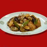龍鳳 - 冬の定番、カキと豆腐のうま煮