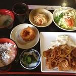 喫茶アベニュー - 料理写真:人間ドック後のサービスランチ(^^) 腹減ってるから美味い!