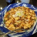 上海料理 飲茶 喬家柵 - マーボー豆腐