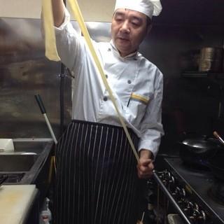 本場、中国において「特級厨師」免許を取得されている料理