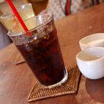 アムリタ食堂 - アイスコーヒー