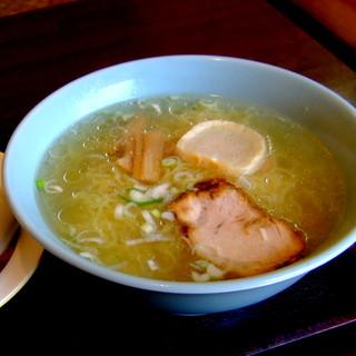 すみよし食堂 - 料理写真:ラーメンセット:750円(塩)