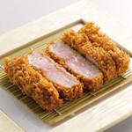 武蔵園 - 料理写真:極上ひれかつ誕生!!武蔵史上最高のやわらかさを実現しました!!是非、1度ご賞味下さい!!