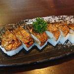 越前三国屋 - 焼き鯖寿司(6貫)1050円