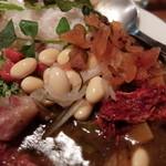 23012768 - 大豆の酢漬けと福神漬け