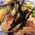 23013973 - 201312 ひかわ ★鯛茶漬膳(1500円)★鯛(表)