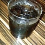 島料理 楽園 - コーヒーの泡盛です ロックで頂きました ノミヤスイデス♪