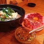 タイ呑み トレンディ - チムチュム鍋(ハーブたっぷり旨辛鍋)