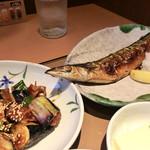 やよい軒 - 料理写真:さんまの塩焼き定食
