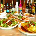 ハレ・カピオラニ - コース料理も柔軟に対応します。