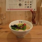 ななつき - 鶏白湯(750円)