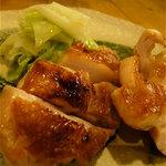 やくみや - 鶏肉のゆず胡椒焼き