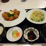 ごはんや 晴丘亭 - カキフライ定食 (¥1,207)