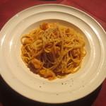 アルモニア - スパゲティ 小海老のトマトクリームソース