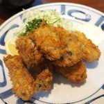 キッチン あじやま - 奥松島産カキフライ(ランチセット¥1550)