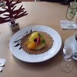 北海道鳥濱珈琲館 - おススメデザートセット