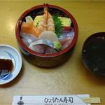 ひょうたん寿司 - ちらし(並)1,000円
