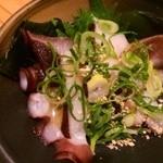阿波水産 - お酒のおともに!蛸のカルパッチョ風♪