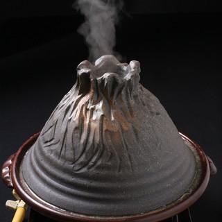 火をつければ大噴火!興奮間違いなしの絶品もつ鍋です!