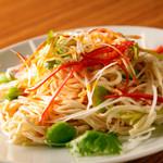 山東厨房 - さっぱりした味わいの『干し豆腐の和え物』