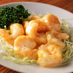 山東厨房 - プリプリの食感がおいしい『芝エビのマヨネーズ和え』
