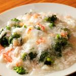 山東厨房 - 上品な味わいが魅力『ブロッコリーの蟹肉あんかけ』