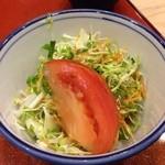 八千代鮨 - 131211 ランチのサラダ