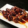 うな菊 - 料理写真:手に入りにくい貴重な生の肝を『きも焼き』にしています