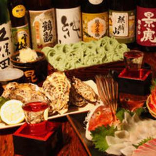 精魂込めて打ったへぎそばと多数の新潟の地酒をお楽しみ下さい!